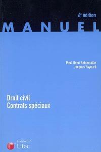 Droit civil, contrats spéciaux