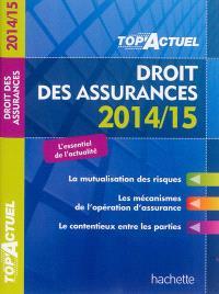 Droit des assurances : 2014-15