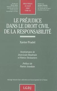 Le préjudice dans le droit civil de la responsabilité