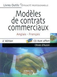 Modèles de contrats commerciaux : anglais-français