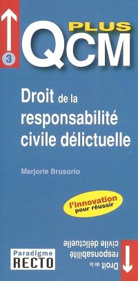 QCM plus droit de la responsabilité civile délictuelle