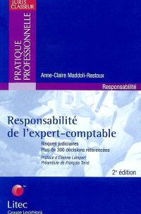 Responsabilité de l'expert comptable : risques judiciaires