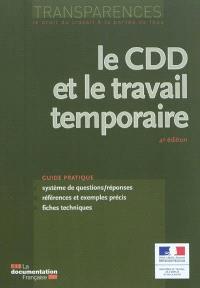 Le CDD et le travail temporaire