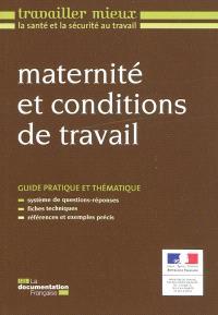 Maternité et conditions de travail