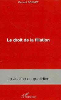 Le droit de filiation