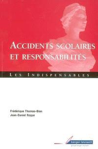 Accidents scolaires et responsabilités