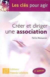 Créer et diriger une association