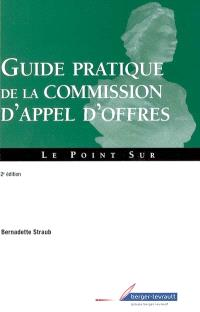 Guide pratique de la commission d'appel d'offres