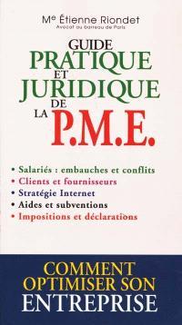 Guide pratique et juridique de la PME