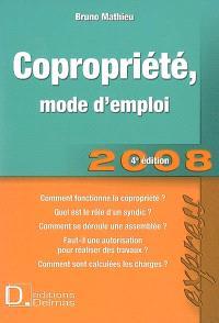 Copropriété, mode d'emploi