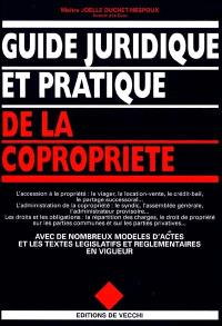 Guide juridique et pratique de la copropriété