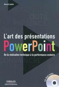 L'art des présentations PowerPoint : de la réalisation technique à la performance oratoire