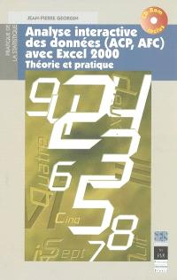 Analyse des données (ACP, AFC) avec Excel 2000 : théorie et pratique