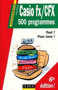 Casio fx-CFX : 500 programmes