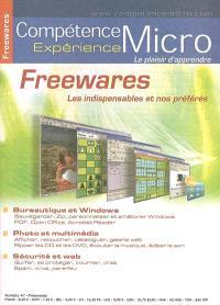 Compétence Micro. Expérience. n° 47, Freewares : les indispensables et nos préférés