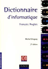 Dictionnaire d'informatique français-anglais
