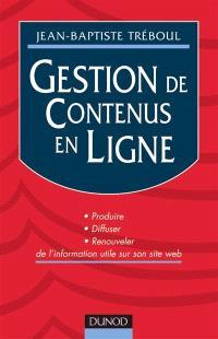 Gestion de contenus en ligne