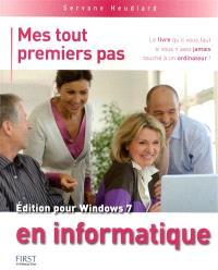 Mes tout premiers pas en informatique, édition pour Windows 7