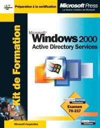 Microsoft Windows 2000 active directory services