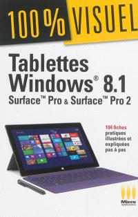 Tablettes Windows 8.1 : Surface Pro & Surface Pro 2