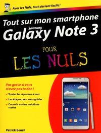Tout sur mon smartphone Samsung Galaxy note 3 pour les nuls