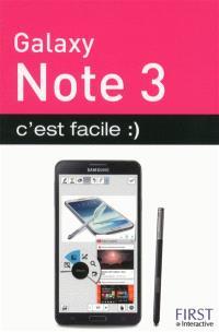 Galaxy Note 3 : c'est facile