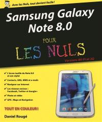 Samsung Galaxy Note 8.0 pour les nuls : versions Wi-Fi et 3G