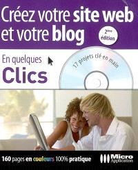 Créer votre site Web et votre blog : 17 projets clé en main sur le CD-ROM