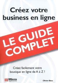 Créez votre business en ligne