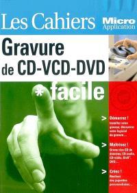 Gravure de CD-VCD-DVD : facile