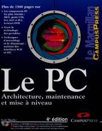 Le PC : architecture, maintenance et mise à niveau