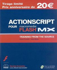 Macromedia ActionScript pour Flash MX