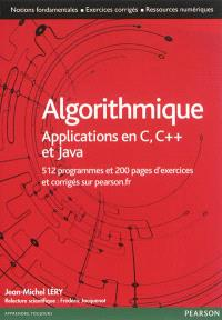 Algorithmique : applications en C, C++ et Java
