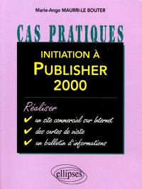 Initiation à Publisher 2000