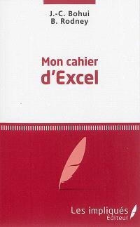 Mon cahier d'Excel