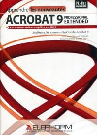 Apprendre Acrobat 9 : toutes les nouveautés d'Acrobat 9 Pro Extendéd en 4h30 de vidéo