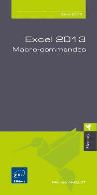 Excel 2013 : macro-commandes