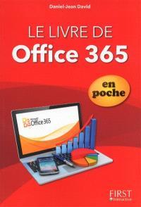 Le livre de Office 365 de poche