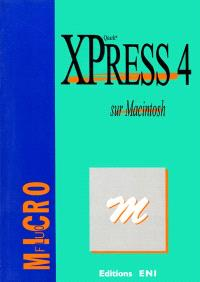 Quark XPress 4 sur Macintosh