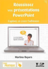 Réussissez vos présentations PowerPoint : captivez et créez l'adhésion
