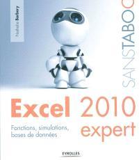 Excel 2010 Expert : fonctions, simulations, bases de données