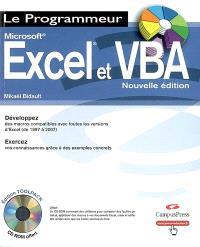 Excel et VBA : versions 97, 2000, XP, 2003 et 2007