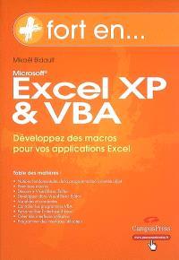Excel XP et VBA