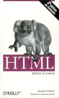 HTML précis et concis
