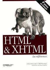HTML, XHTML, la référence