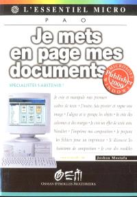 Je mets en page mes documents avec Publisher 2000