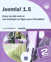 Joomla ! coffret de 2 livres : créez un site web et une boutique en ligne avec VirtueMart