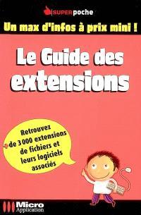 Le guide des extensions