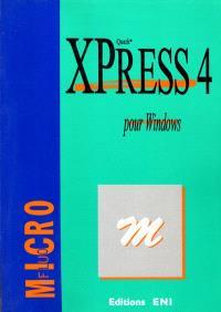 Quark XPress 4, pour Windows