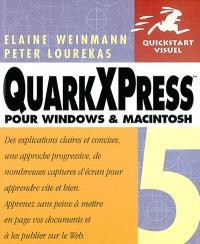 QuarkXPress 5 pour Windows et Macintosh